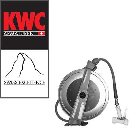 KWC Gastro 49800189 Auszieh-Schlauchbrause mit Schlauchaufroller 15 Meter