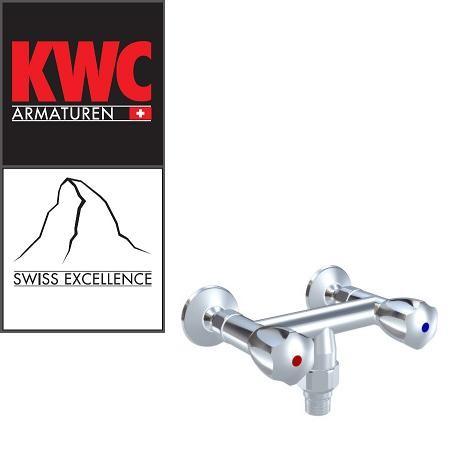 KWC Gastro K.24.42.19.000C86 Wandarmatur mit Schlauchanschluss und Rohrunterbrecher