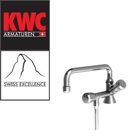 KWC Gastro 100.100 C Thekenarmatur mit Unterspülrohr einfach - ohne Mischung
