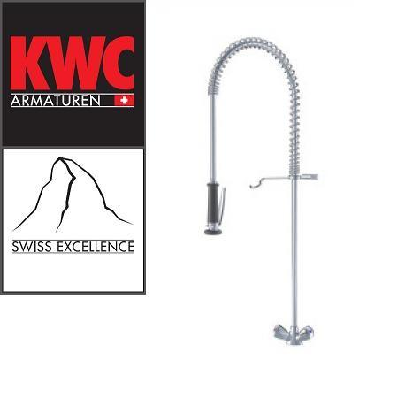 KWC Gastro K.24.41.60.000C06 Gastronomie-Geschirrbrause Zweigriffmischer ohne Schwenkauslauf