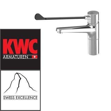 KWC Gastro 24.501.104.000LL Gastro Waschtisch-Armatur mit langem Hebel - Auslauf lang / erhöht