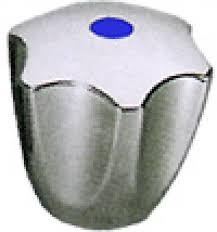 """KWC Corona Chrom-Metallgriff BLAU-Punkt """"Kalt"""" Z.503.009 für Gastro-Griffarmaturen"""