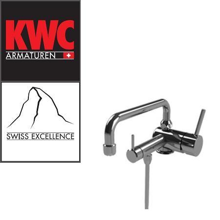 KWC Gastro 200.101 C Thekenarmatur mit Unterspülrohr einfach - Einhebelmischer