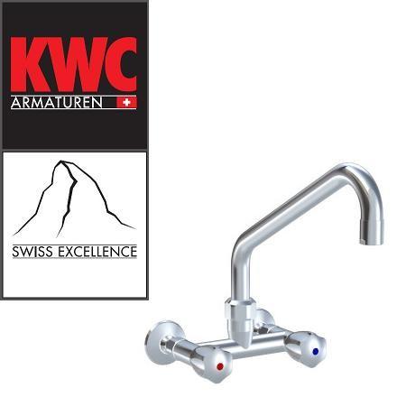 KWC Gastro K.24.42.24.000C86 Gastronomie-Wandarmatur Zweihebelmischer hoch