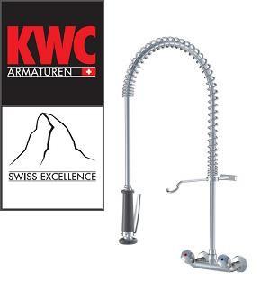 KWC K24.42.70.000C78 Gastro Wand-Geschirrbrause - Zweihebelmischer