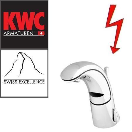 KWC Gastro K.12.JK.42N000U34 berührungslose Niederdruck-Infrarotarmatur mit Ablaufgarnitur & Unt
