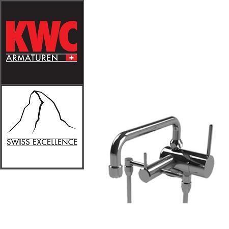 KWC Gastro 200.102 C Thekenarmatur mit Unterspülrohr zweifach - Einhebelmischer