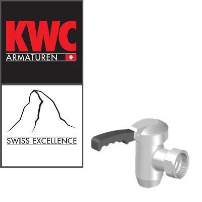 "KWC Gastro 01331006 Kochkesselarmatur - 1¼"" Entleerhahn"