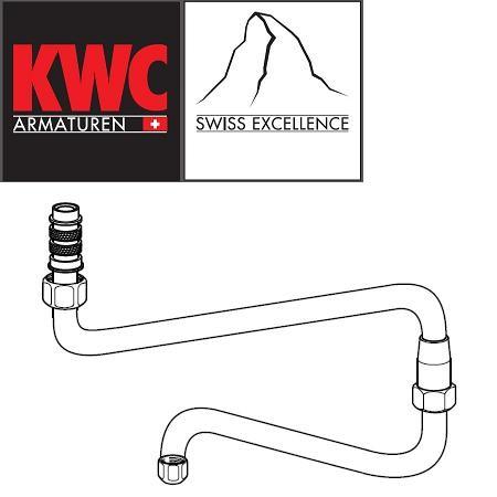 KWC Gastro Z.503.683.000 Doppelgelenk-Schwenkauslauf unten für KWC Gastro-Armaturen