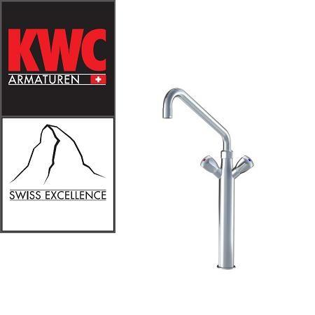 KWC Gastro K.24.41.22.000C07 Gastronomie Kochblock-Standsäulen-Armatur - Zweigriffmischer