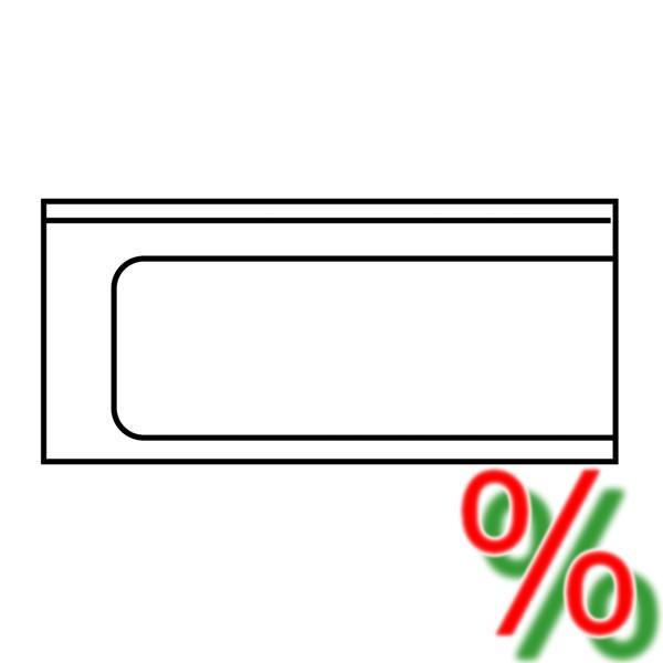 Ablauftisch Ecoline links - Breite 120 cm