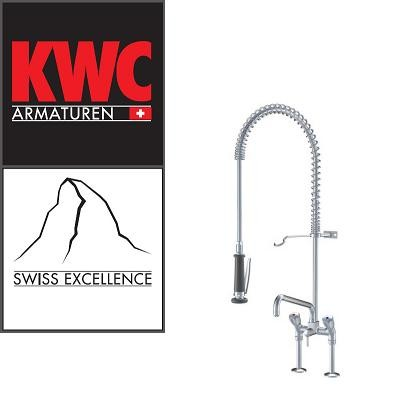 KWC Gastro K.24.42.64.000C71 Geschirrbrause mit Schwenkauslauf Doppelrohr - Zweigriffmischer