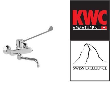 KWC Gastro K.24.62.14.000B91 Gastro-Wandarmatur Einhebelmischer mit langem Hebel - Auslauf kurz