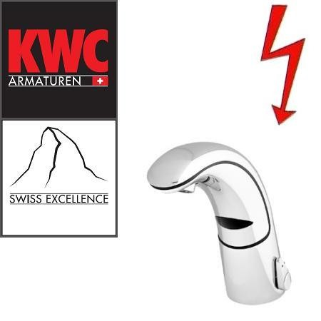 KWC Gastro K.12.JK.52N000U23 berührungslose Niederdruck-Infrarotarmatur ohne Ablaufgarnitur mit Unte